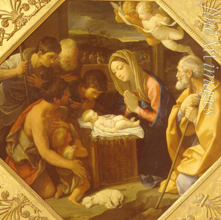 Reni Guido - The Adoration of the Christ Child