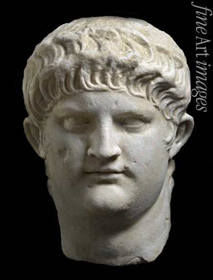 Classical Antiquities - Portrait bust of Nero