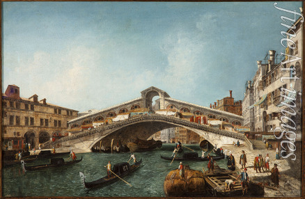 Marieschi Michele Giovanni - The Rialto Bridge