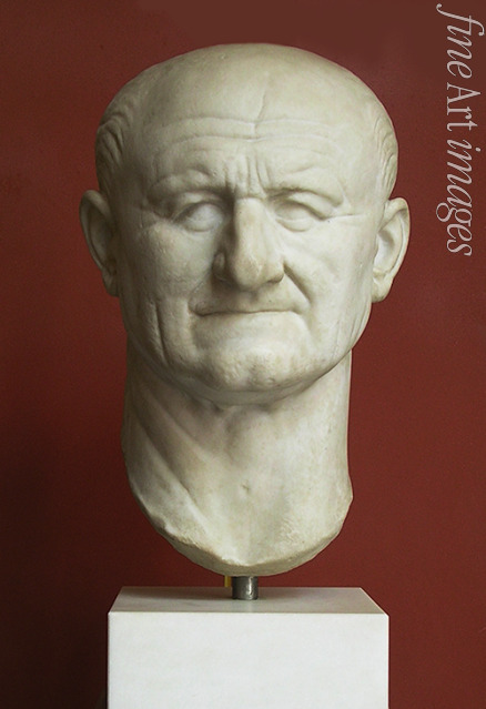 Classical Antiquities - Head of Vespasianus