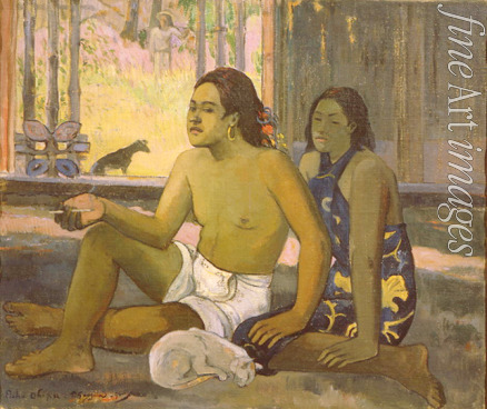 Gauguin Paul Eugéne Henri - Eiaha Ohipa (Not Working. Tahitians in a Room)