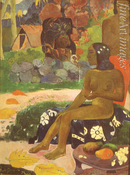 Gauguin Paul Eugéne Henri - Vairaumati Tei Oa (Her Name is Vairaumati)