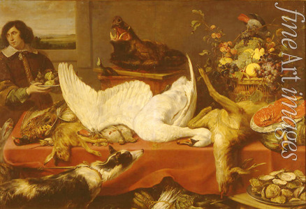 Snyders Frans - Still life with a swan