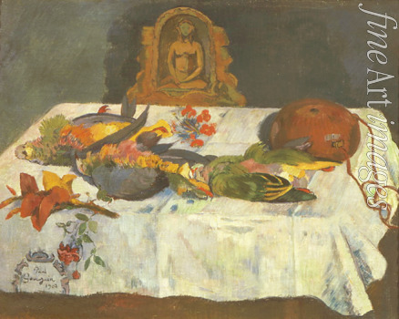 Gauguin Paul Eugéne Henri - Still life with parrots