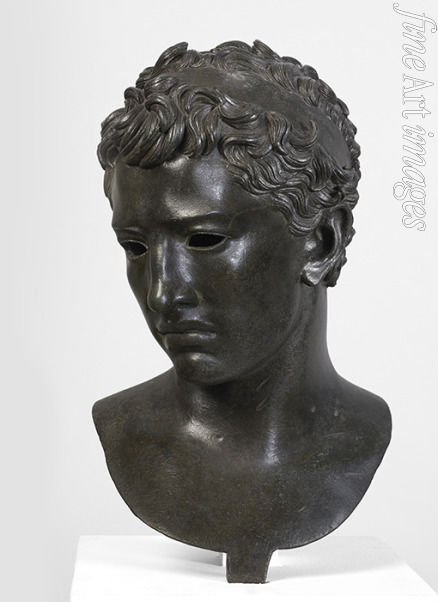 Classical Antiquities - The head of Juba II, King of Numidia, from Volubilis, Morocco