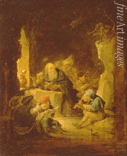 Teniers David the Younger - The Temptation of Saint Anthony