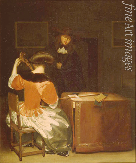 Ter Borch Gerard (Circle of) - The Music Lesson