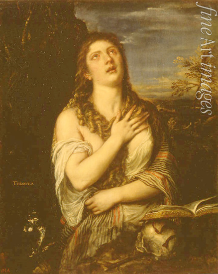 Titian - The Repentant Mary Magdalene