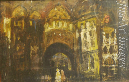 Korovin Konstantin Alexeyevich - Stage design for the opera Faust by Ch. Gounod