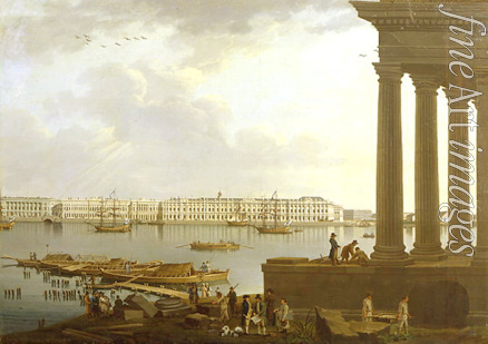 Paterssen Benjamin - View of the Winter Palace in St. Petersburg