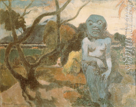 Gauguin Paul Eugéne Henri - Rave te hiti aamu (The Idol)