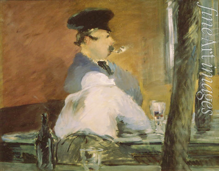 Manet Édouard - The Bar (Le Bouchon)