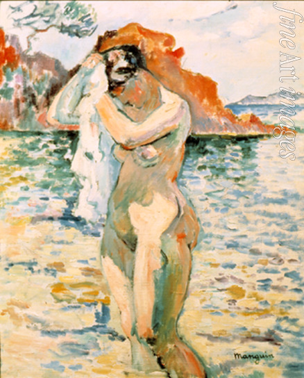 Manguin Henri Charles - A Bather