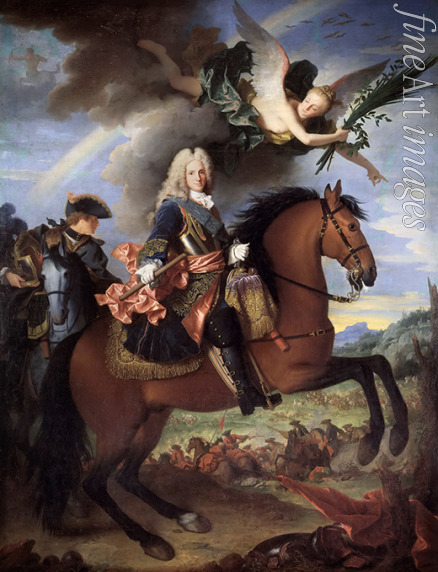 Ranc Jean - Equestrian Portrait of Philip V (1683-1746), King of Spain