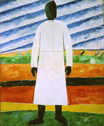 Malevich Kasimir Severinovich - Farmer's wife with the black face