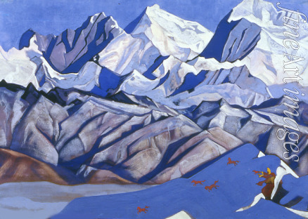 Roerich Nicholas - Red Horses