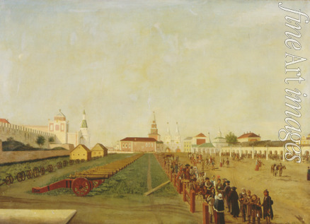 Hilferding Friedrich - The Red Square in Moscow