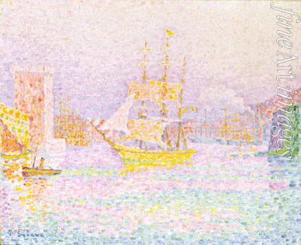 Signac Paul - The Harbour at Marseilles