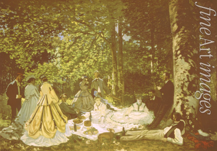 Monet Claude - The Luncheon on the Grass