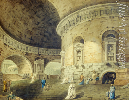 Corsini Domenico - Stage design for a theatre play