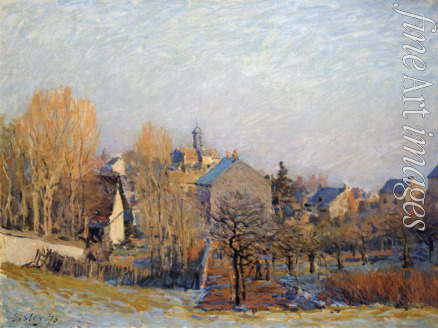 Sisley Alfred - Frost in Louveciennes