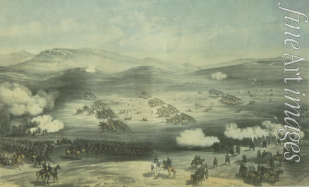 Simpson William - The Battle of Balaclava on October 25, 1854. The Charge of the Light Brigade