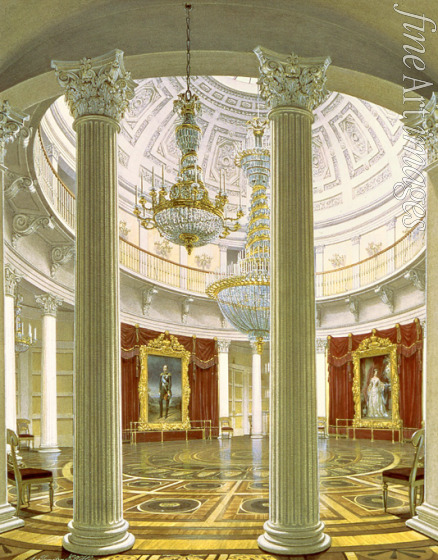 Hau Eduard - Die Rotunde im Winterpalast in St. Petersburg