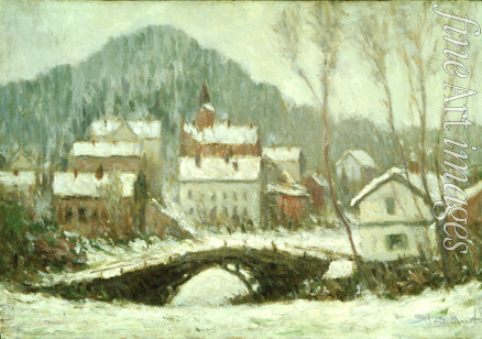 Monet Claude - Winterlandschaft