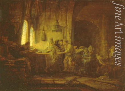 Rembrandt van Rhijn - The Parable of the Labourers in the Vineyard