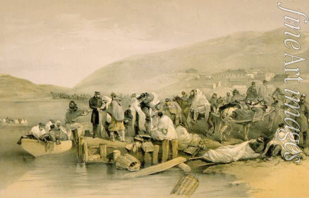 Simpson William - The Embarkation of the sick at Balaklava