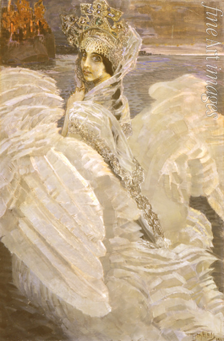 Vrubel Mikhail Alexandrovich - The Swan Princess