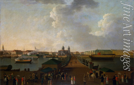 Paterssen Benjamin - View of St Petersburg on the Day of the 100th Anniversary