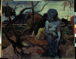 Gauguin, Paul Eugéne Henri - Rave te hiti aamu (The Idol)
