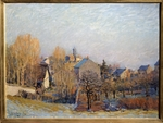Sisley, Alfred - Frost in Louveciennes