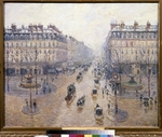 Pissarro, Camille - L'Avenue de l'Opéra. Snow. Morning