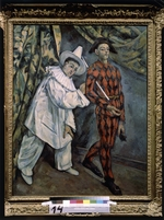 Cézanne, Paul - Pierrot and Harlequin (Mardi-Gras)