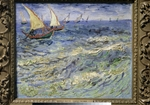 Gogh, Vincent, van - The sea at Saintes-Maries