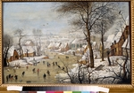 Brueghel, Pieter, the Younger - Winter landscape with a Bird Trap