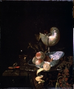 Kalf, Willem - Still life with a moother-of-pearl goblet