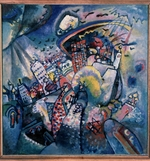 Kandinsky, Wassily Vasilyevich - Moscow I (The Red Square)
