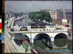Marquet, Pierre-Albert - Saint Michel Bridge in Paris. Quai des Grands Augustins