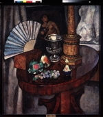 Mashkov, Ilya Ivanovich - Still life with a fan