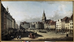 Bellotto, Bernardo - The old Market place in Dresden