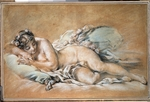 Boucher, François - Sleeping young woman