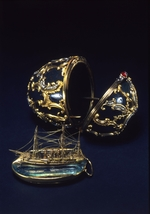 Perkhin, Michail Yevlampievich, (Fabergé manufacture) - The Memory of Azov Egg