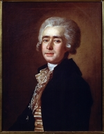 Belsky, Mikhail Ivanovich - Portrait of the composer Dmitry Bortniansky (1751-1825)