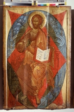 Russian icon - Christ in Majesty (Saviour of the World)