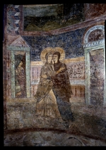 Ancient Russian frescos - The Visitation