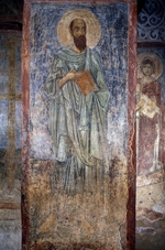Ancient Russian frescos - The Apostle Paul