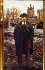Brodsky, Isaak Izrailevich - Vladimir Lenin in the Smolny Institute (The Great October)